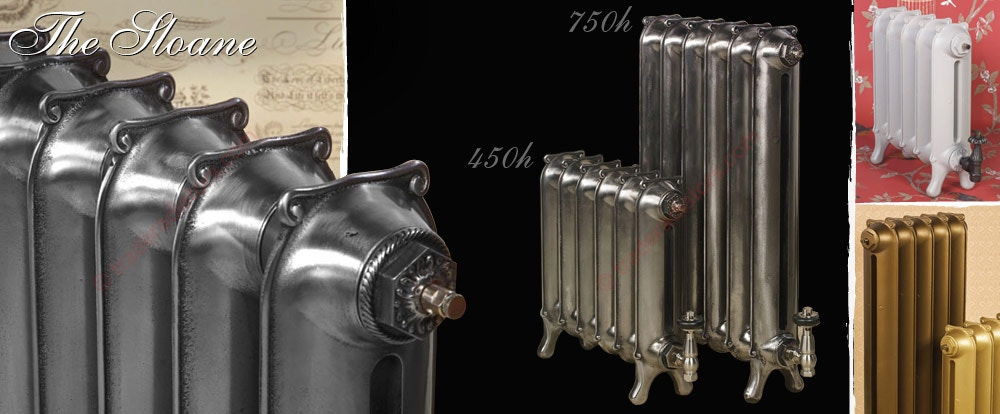 Paladin Sloane Cast Iron Radiator - Trade Radiators