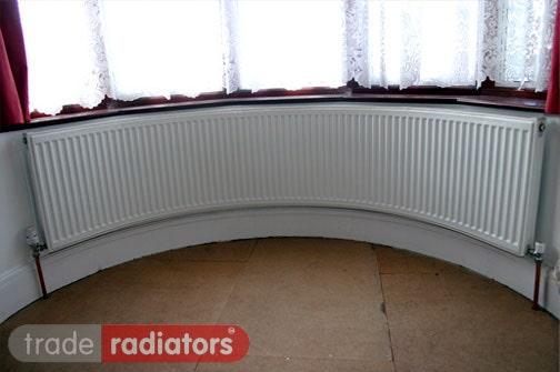 Ultraheat Curved Bay Window Radiator