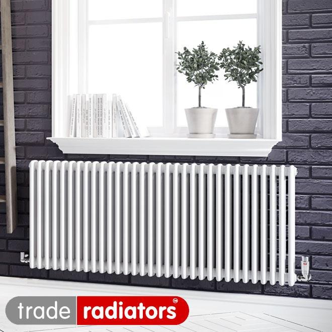 White Classic Column Trade Direct Radiator