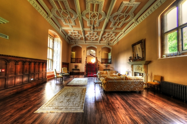 Middleton Hall, listed Victorian Country House in Alnwick, Northumberland.