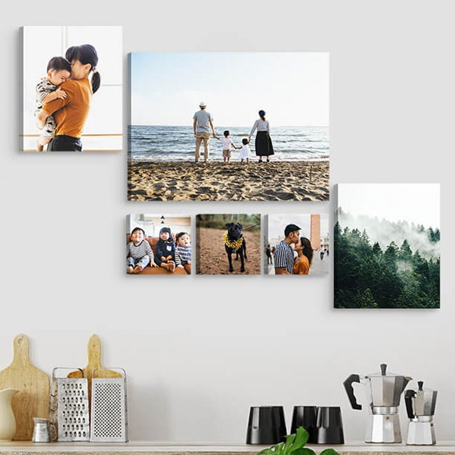 Canvas Wall Hangings - Easy home decor ideas