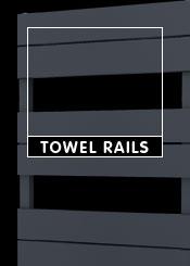 Anthracite Heated Towel Rails