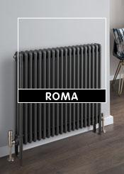 Apollo Roma Grey & Anthracite Column Radiators