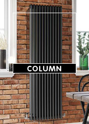 Black Column Radiators