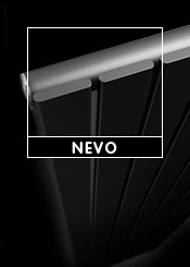 Trade Direct Black Nevo Designer Radiators