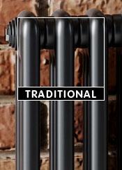 Black Traditional Radiators