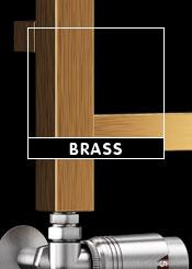 Brass Heated Towel Rails