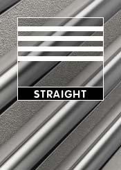 Straight Heated Towel Rails