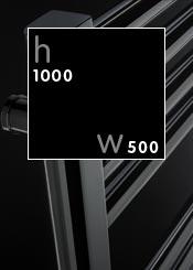 1000 x 500 mm