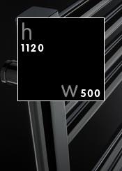 1120 x 500 mm