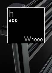 600 x 1000 mm