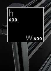 600 x 600 mm