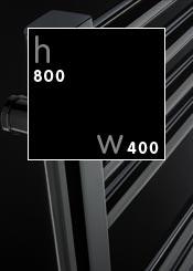 800 x 400 mm