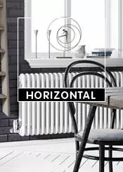 White Horizontal Radiators