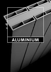 Silver Aluminium Designer Radiators