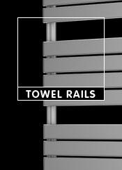 Silver Heated Towel Rails