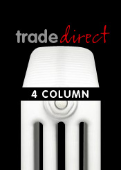 Trade Direct 4 Column Radiators