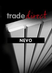 Trade Direct White Nevo Designer Radiators