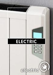 White Electric Radiators