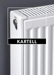 Kartell White Radiators