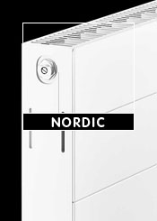 Nordic White Flat Panel Radiators