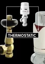Silver Thermostatic Radiator Valves