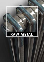 Raw & Lacquered Metal Column Radiators