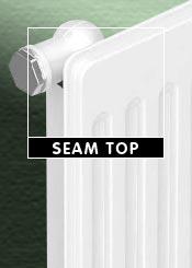 Seam Top Radiators