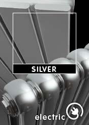 Silver Electric Radiators