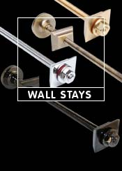 Cast Iron Radiator Wall Stays & Brackets