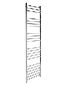 Pisa Towel Rail - 25mm, Stainless Steel Straight, 1500x500mm (Electric)
