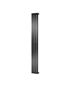 Towelrads Merlo Radiator, Anthracite , 1800mm x 310mm