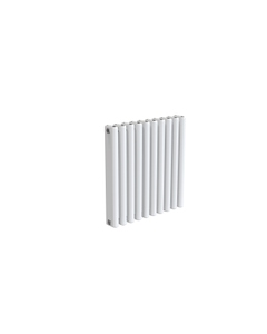 Reina Alco Aluminium Designer Radiator, White, 600mm x 580mm