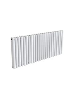 Reina Alco Aluminium Designer Radiator, White, 600mm x 1420mm