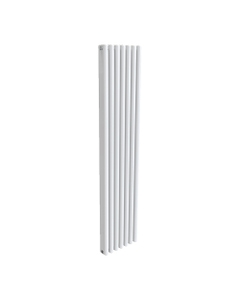 Reina Alco Aluminium Designer Radiator, White, 1800mm x 400mm