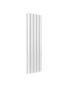 Reina Belva Aluminium Designer Radiator, White, 1800mm x 516mm - Double Panel