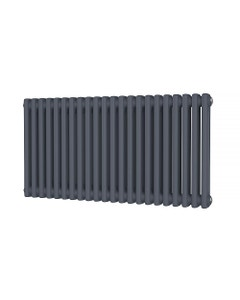 Trade Direct 2 Column Radiator, Anthracite, 500mm x 988mm