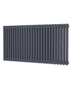 Trade Direct 2 Column Radiator, Anthracite, 600mm x 1164mm