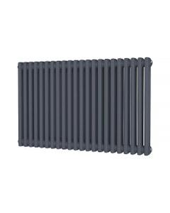 Trade Direct 2 Column Radiator, Anthracite, 600mm x 988mm