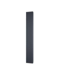 Trade Direct 3 Column Radiator, Anthracite, 1800mm x 290mm