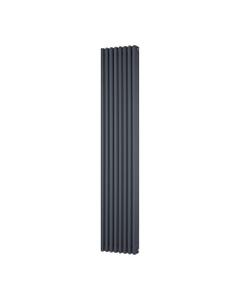 Trade Direct 3 Column Radiator, Anthracite, 1800mm x 380mm
