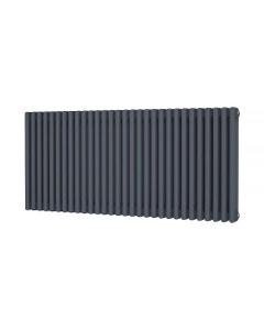 Trade Direct 3 Column Radiator, Anthracite, 600mm x 1355mm