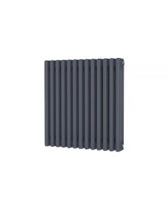 Trade Direct 3 Column Radiator, Anthracite, 600mm x 599mm