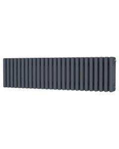 Trade Direct 4 Column Radiator, Anthracite, 300mm x 1164mm