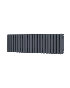 Trade Direct 4 Column Radiator, Anthracite, 300mm x 988mm