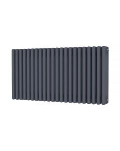 Trade Direct 4 Column Radiator, Anthracite, 500mm x 988mm