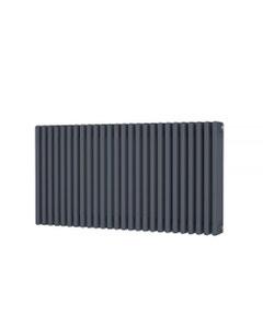 Trade Direct 4 Column Radiator, Anthracite, 600mm x 1164mm