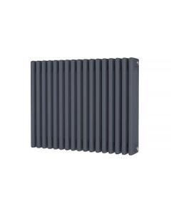 Trade Direct 4 Column Radiator, Anthracite, 600mm x 768mm