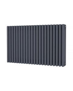 Trade Direct 4 Column Radiator, Anthracite, 600mm x 988mm
