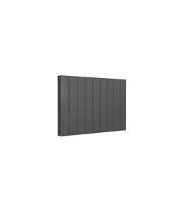 Reina Casina Aluminium Designer Radiator, Anthracite, 600mm x 850mm - Double Panel